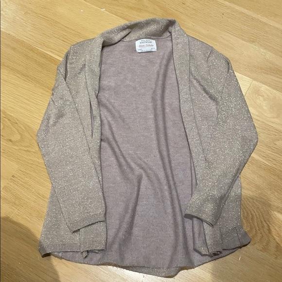 Zara girls size 8 cardigans